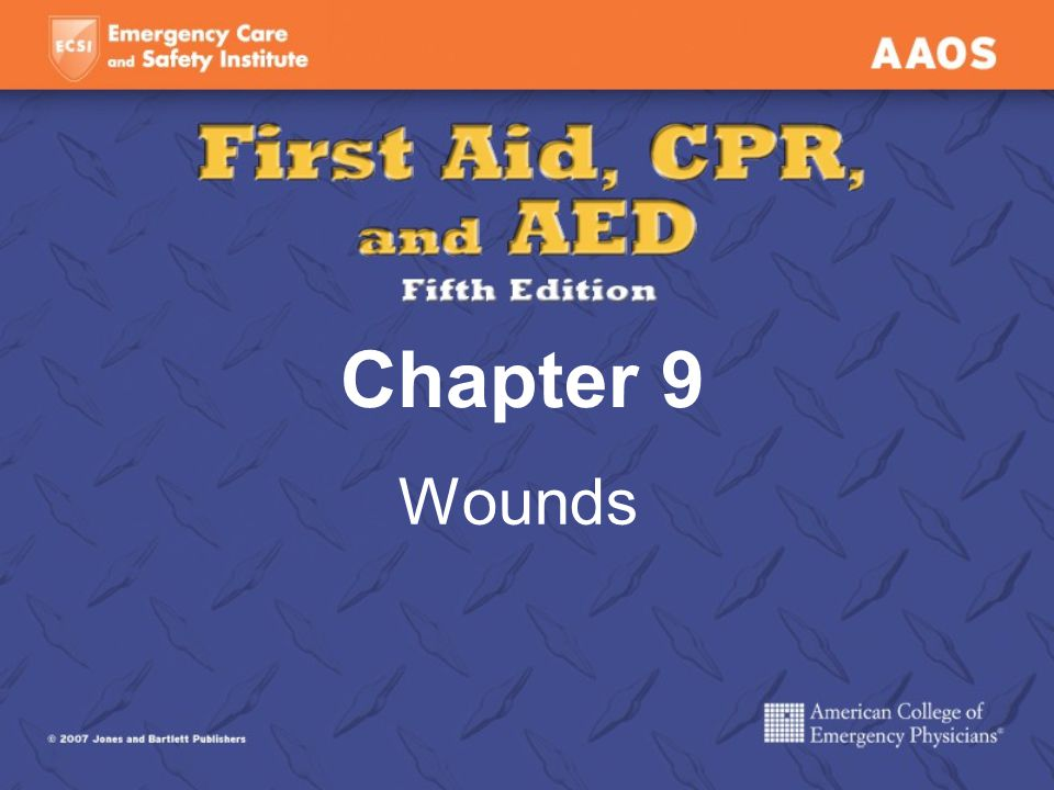 Chapter 9 Wounds