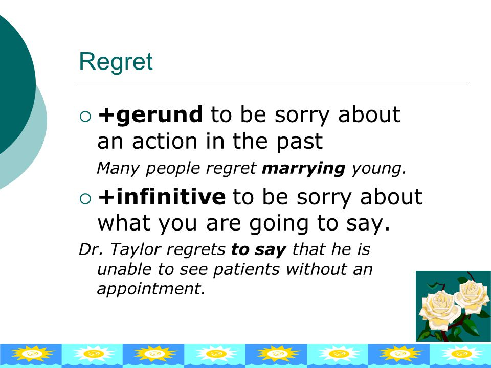Stop ++++gerund to finish an activity Stop talking and get on with your work!  + + + +infinitive to interrupt one activity in order to do anot