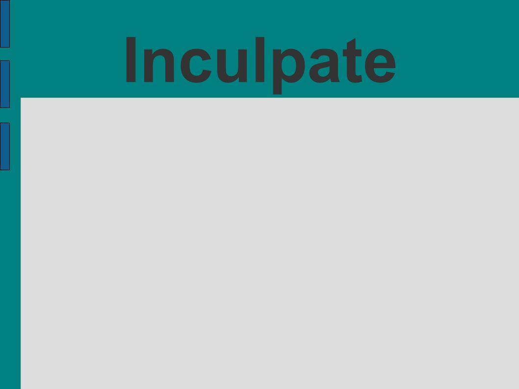Inculpate