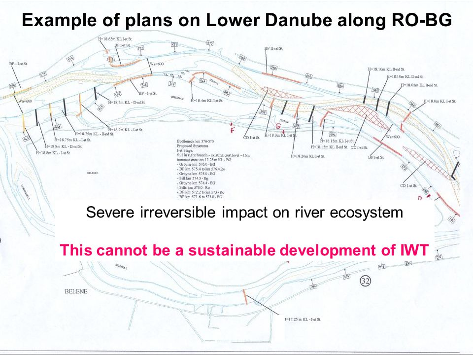 29 January 2009 Workshop on Follow-up for Joint Statement IWT&Env. Sustainability in DRB Page: 7 View from WWF Example of plans on Lower Danube along