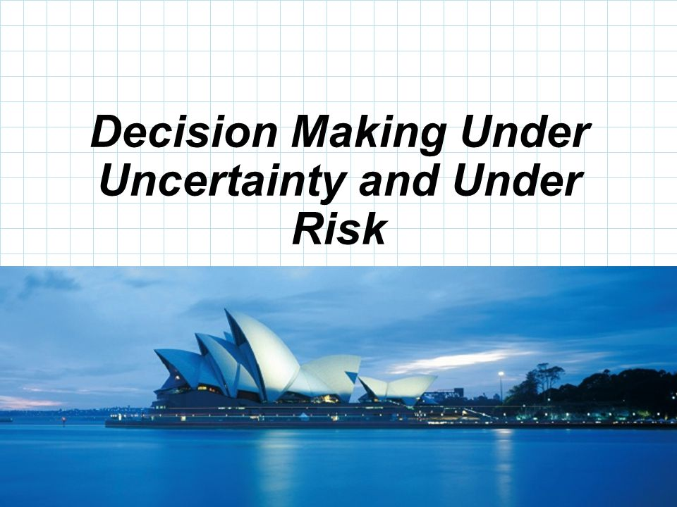 © 2008 Prentice-Hall, Inc. Decision Making Under Uncertainty and Under Risk