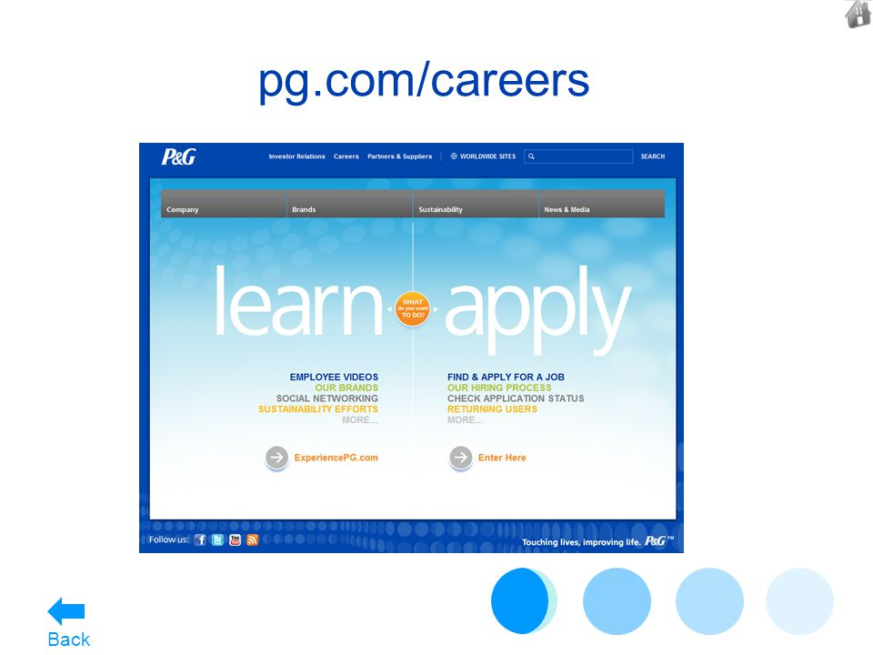 pg.com/careers Back