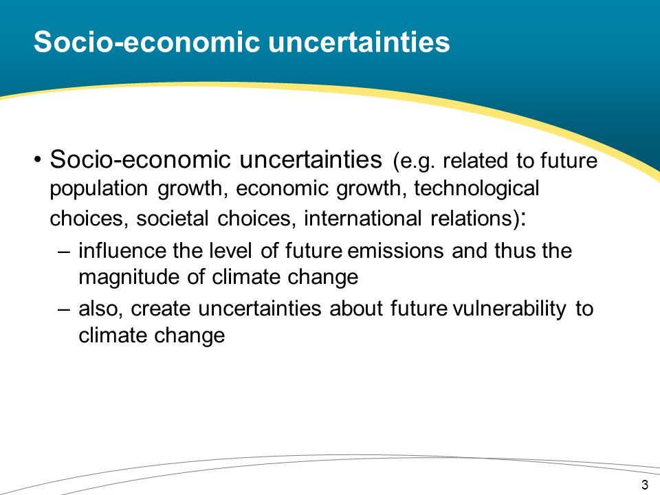 IPCC GHG emission scenarios Source: IPCC (2007a) 4th Assessment report – Synthesis report, Fig.