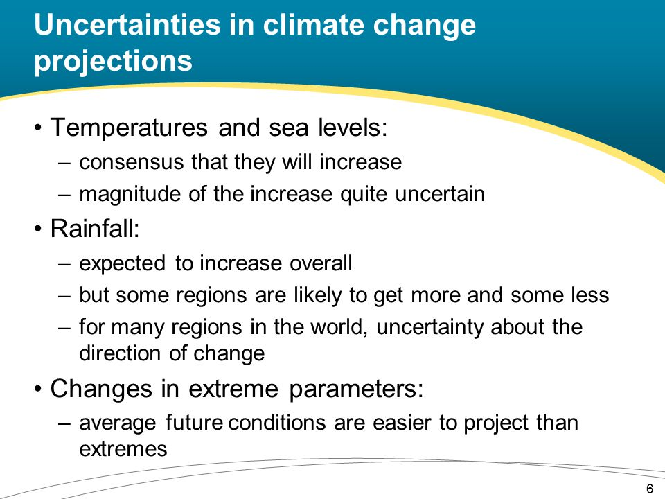 Problems associated with downscaling AOGCMs produce projections of future climate change for large areas (e.g.