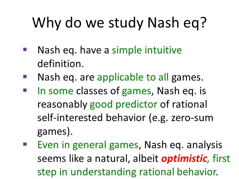 Why is it optimistic.Nash eq.