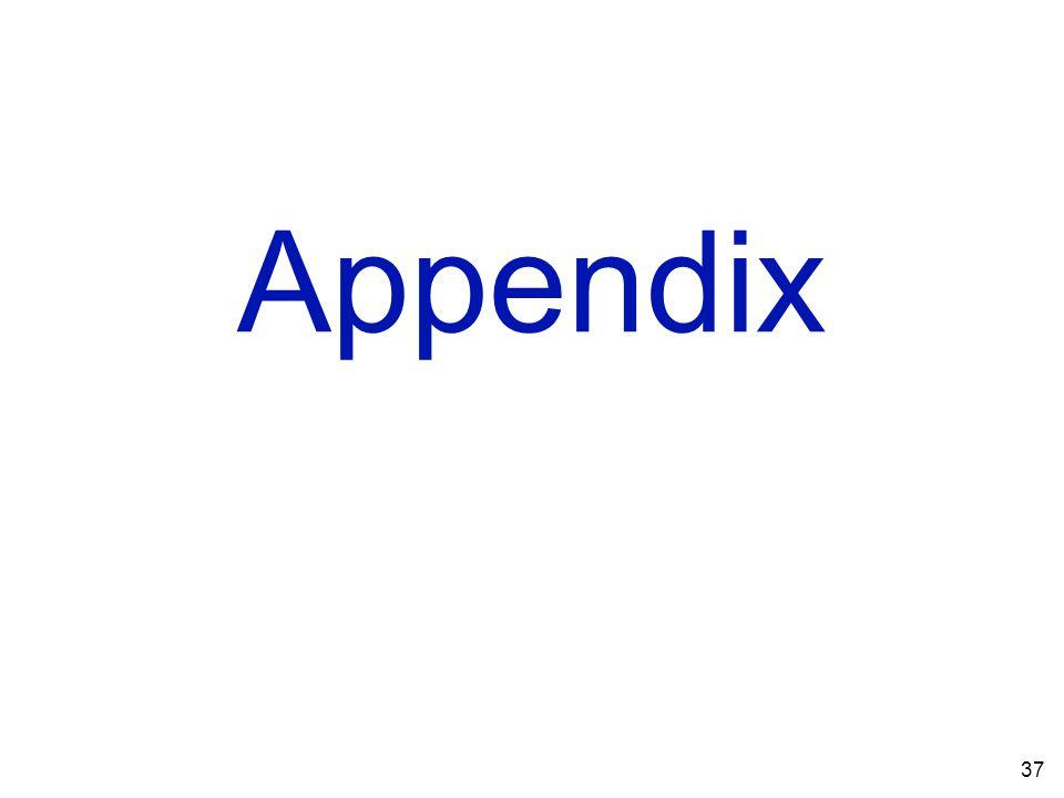 Appendix 37