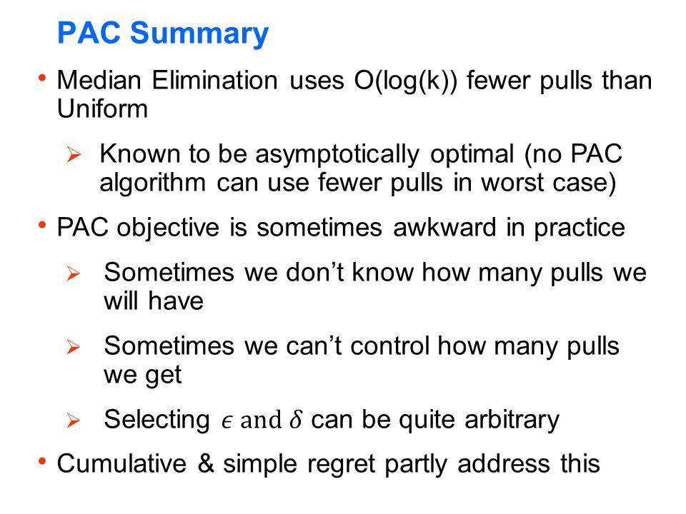 PAC Summary