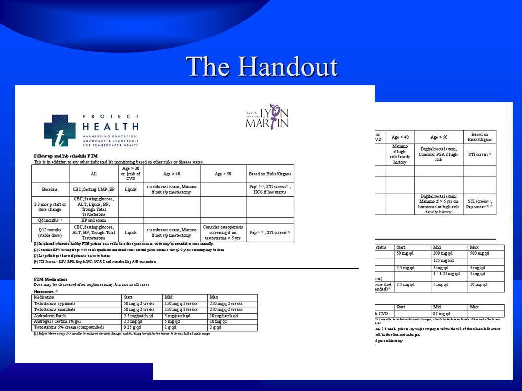 The Handout