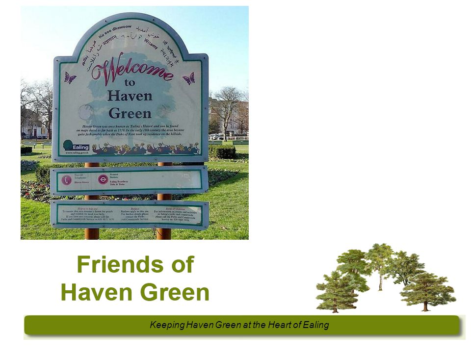 Keeping Haven Green at the Heart of Ealing