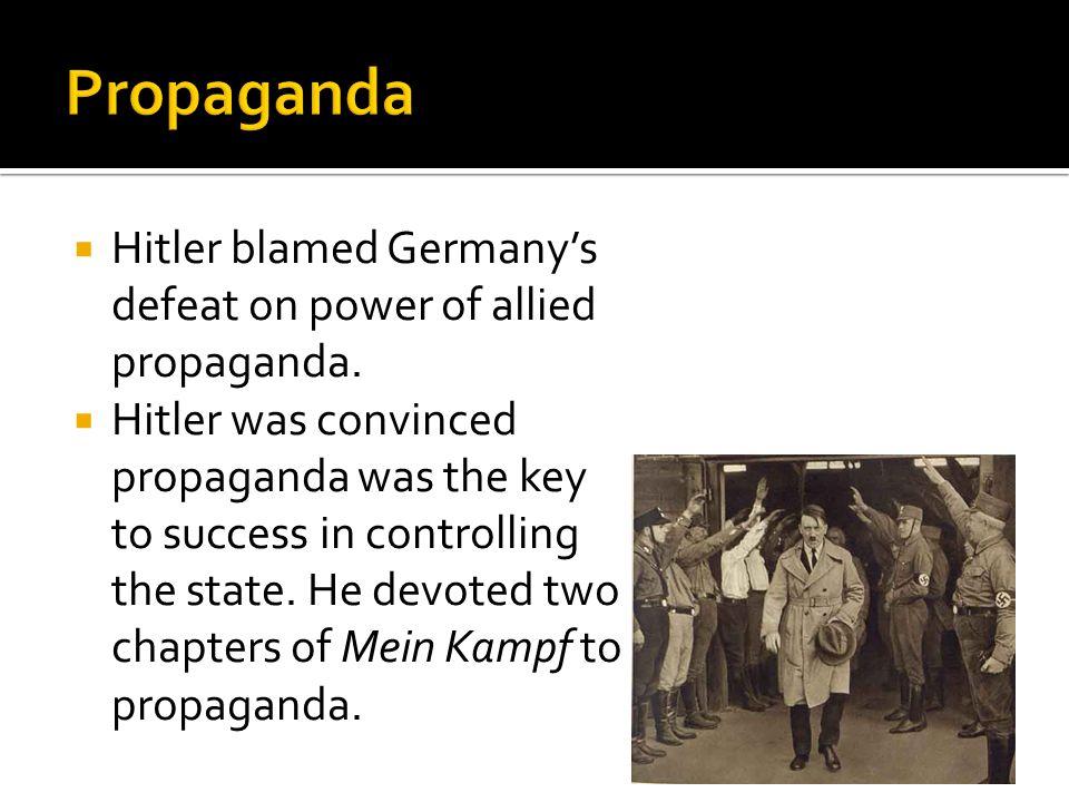  Today propaganda scholars don't always view propaganda as necessarily evil.