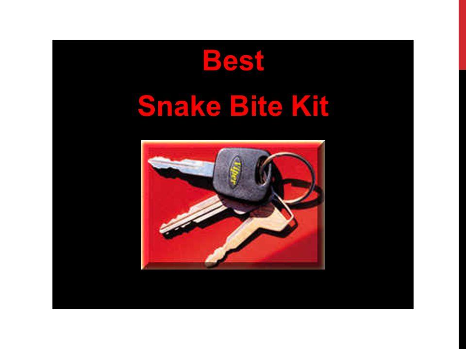 Best Snake Bite Kit