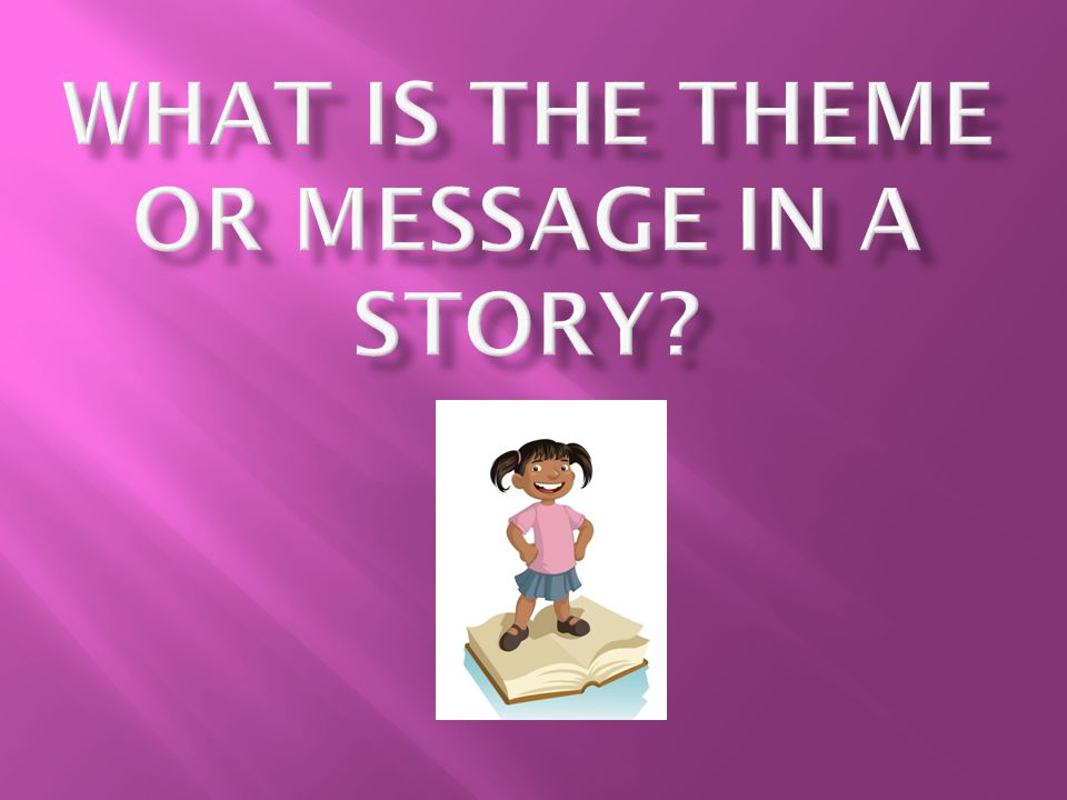 Let's talk about it:  The words theme, message, moral are all synonyms.