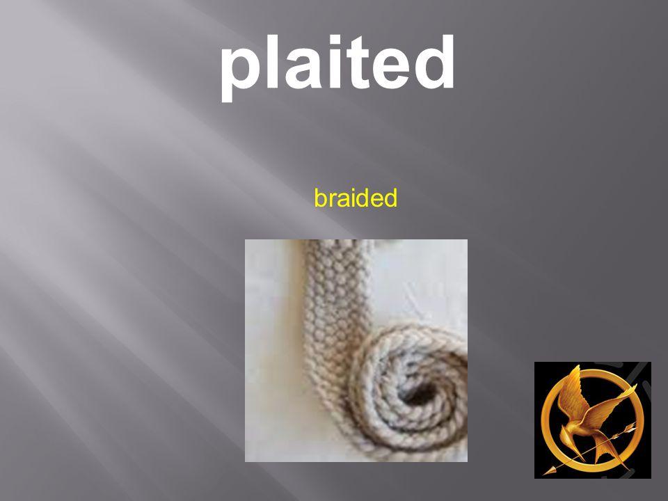 plaited braided