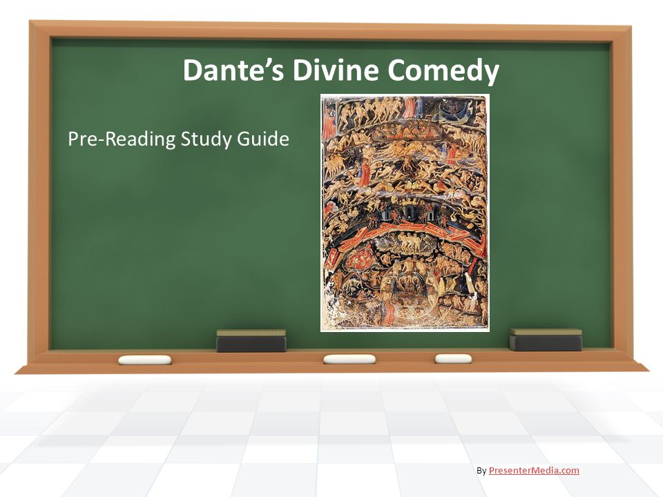 Dante's Divine Comedy Pre-Reading Study Guide By PresenterMedia.comPresenterMedia.com