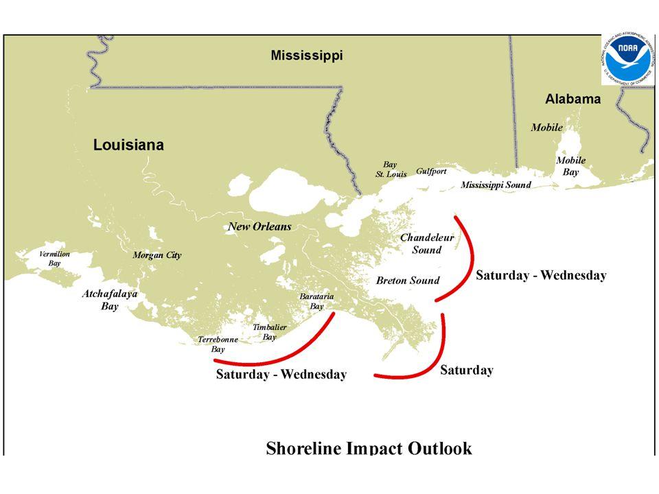 Generalized Shoreline Impact