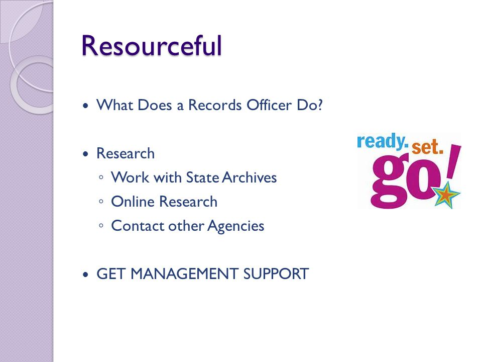 First Phase of Construction Create a Plan Develop Goals and Timelines Create Proper Tools for Staff Develop Curriculum for Training/Workshops Build an Internal Webpage for Records Management Work With State Archives in Retention Schedule Revision