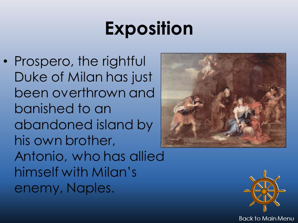 Sorry, try again.That is not the reason Prospero wrecked his brother's ship.