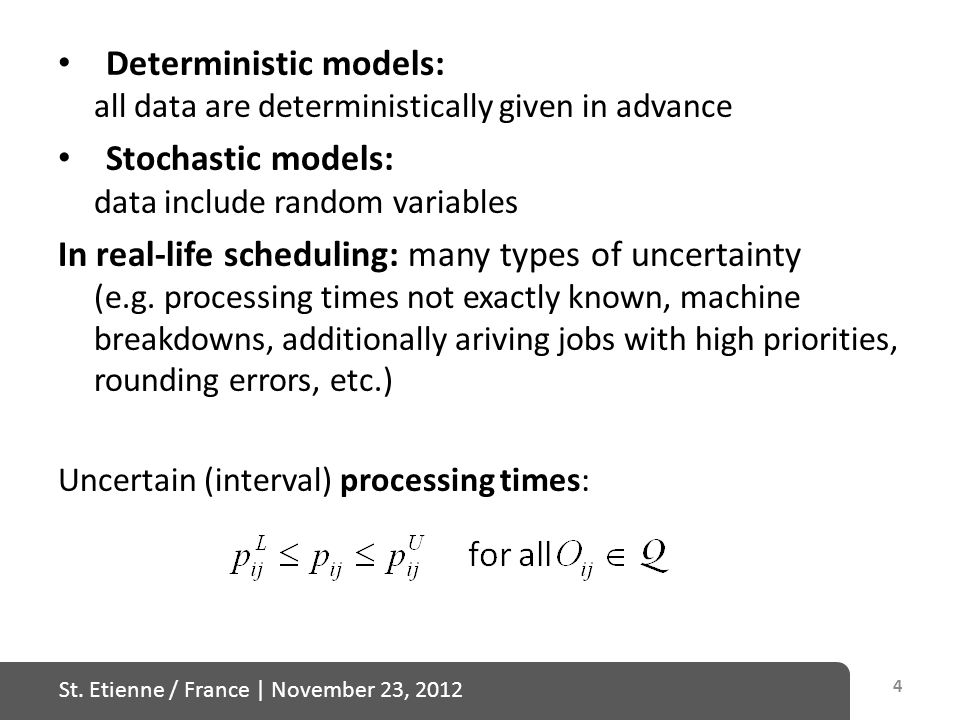 St. Etienne / France | November 23, 2012 Definition of the stability box: 45