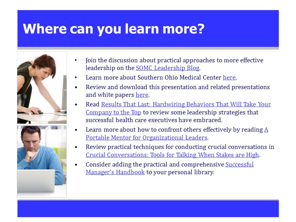 Where can you learn more.