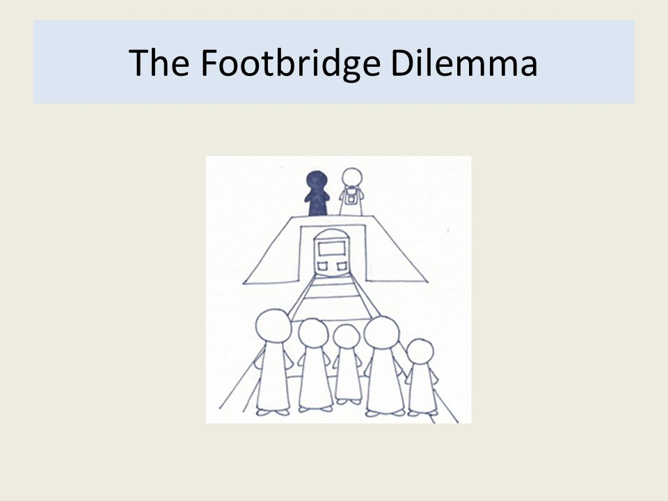 The Footbridge Dilemma
