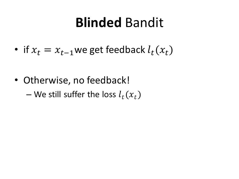 Blinded Bandit