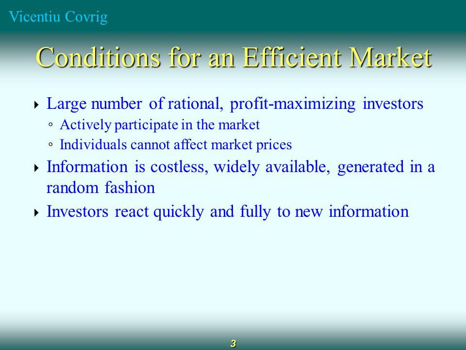 Vicentiu Covrig 14 Behavioral Finance Behavioral Finance