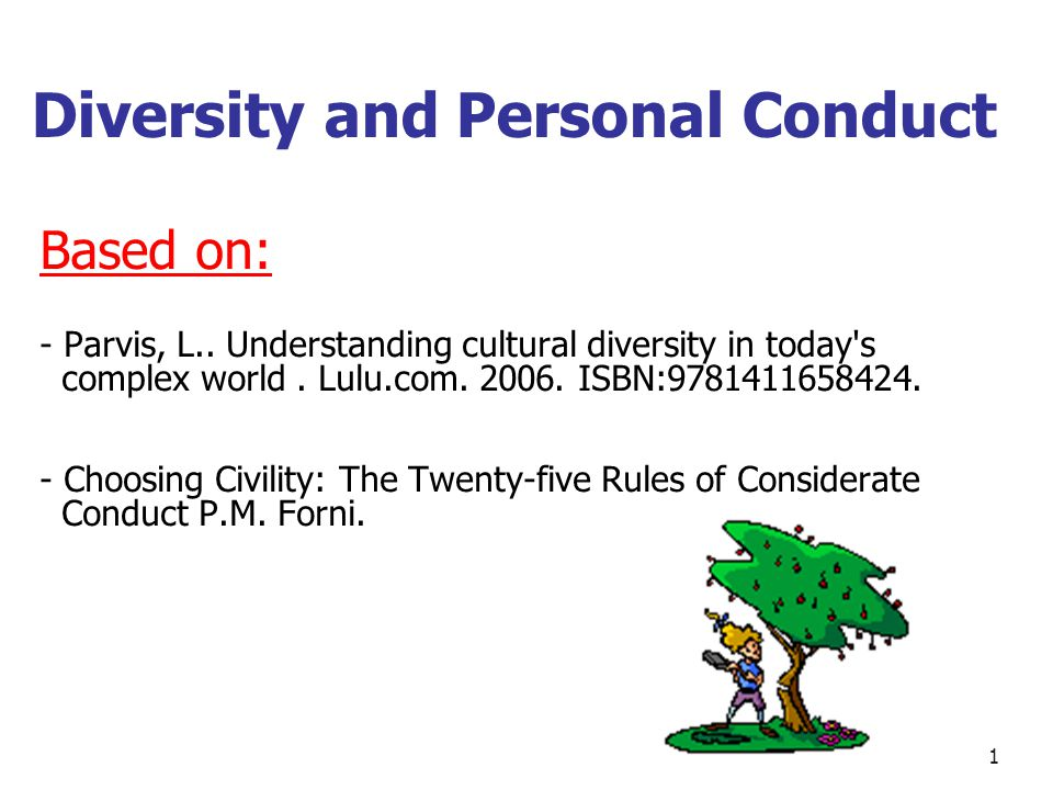 Diversity and Globalization Based on: - Parvis, L..