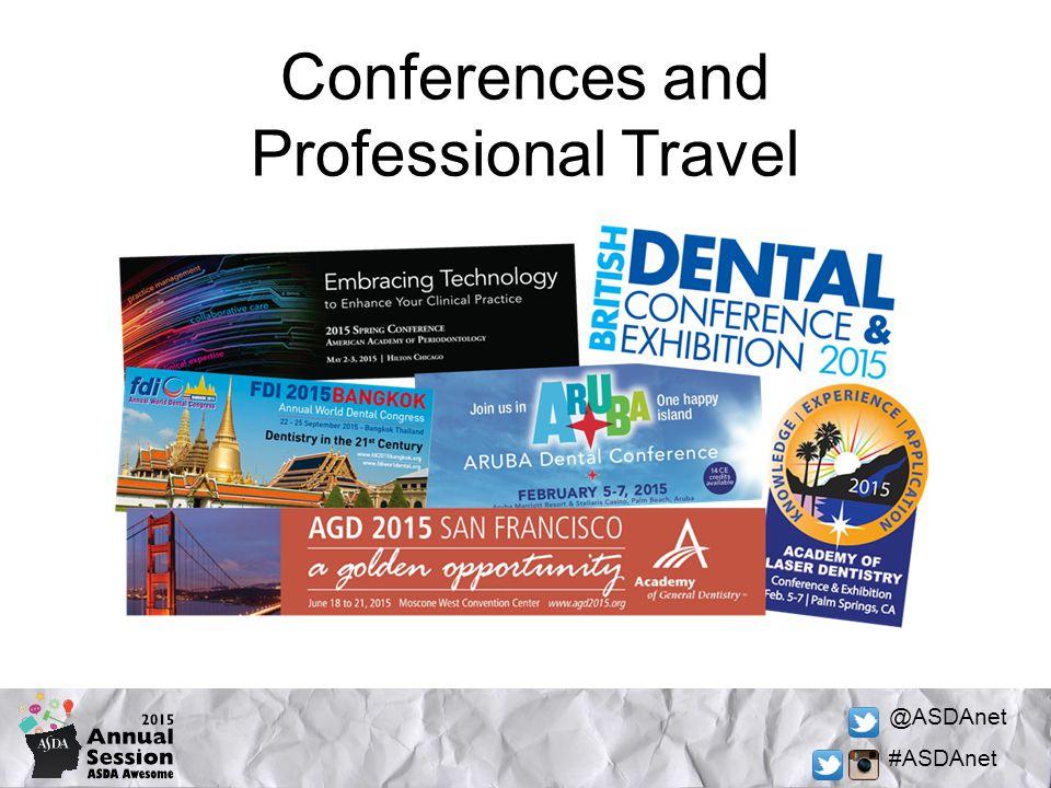 @ASDAnet #ASDAnet Conferences and Professional Travel
