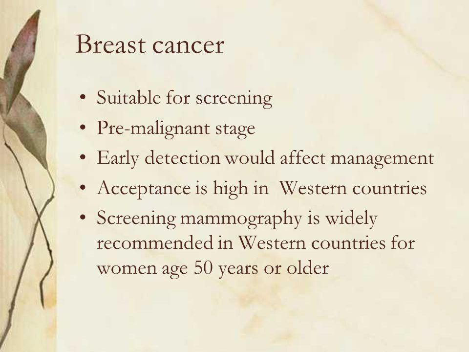 Breast cancer Highest incidence among all female cancers in Hong Kong since 1994 Incidence is rising 22% of all cancers in women in 2004 Cumulative life-time risk is 1 in 22 »Hospital Authority Hong Kong Cancer Registry