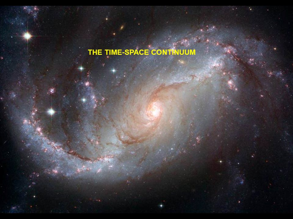 THE TIME-SPACE CONTINUUM