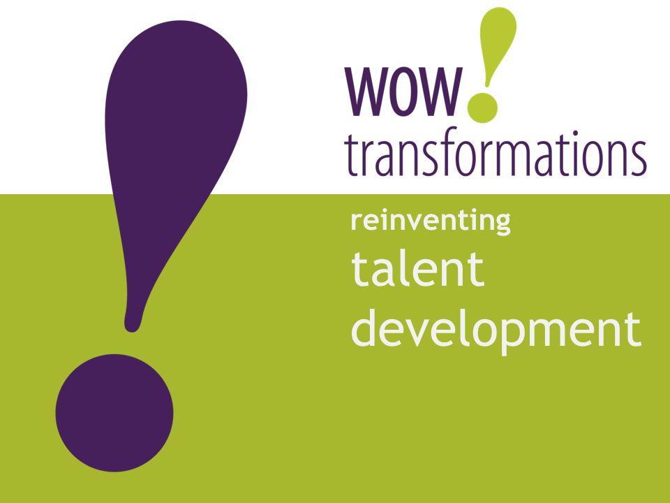 reinventing talent development