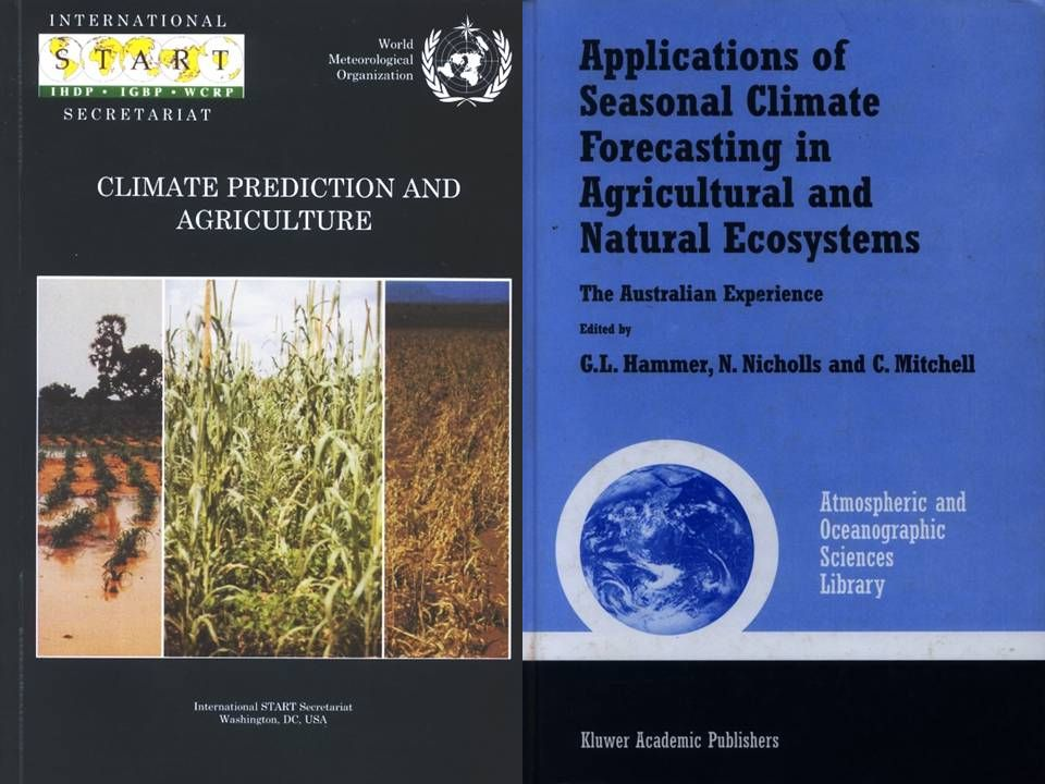 What are the decisions of stakeholders which depend on information/prediction of climate variability and which facets of climate variability (which events) are involved in these decisions.