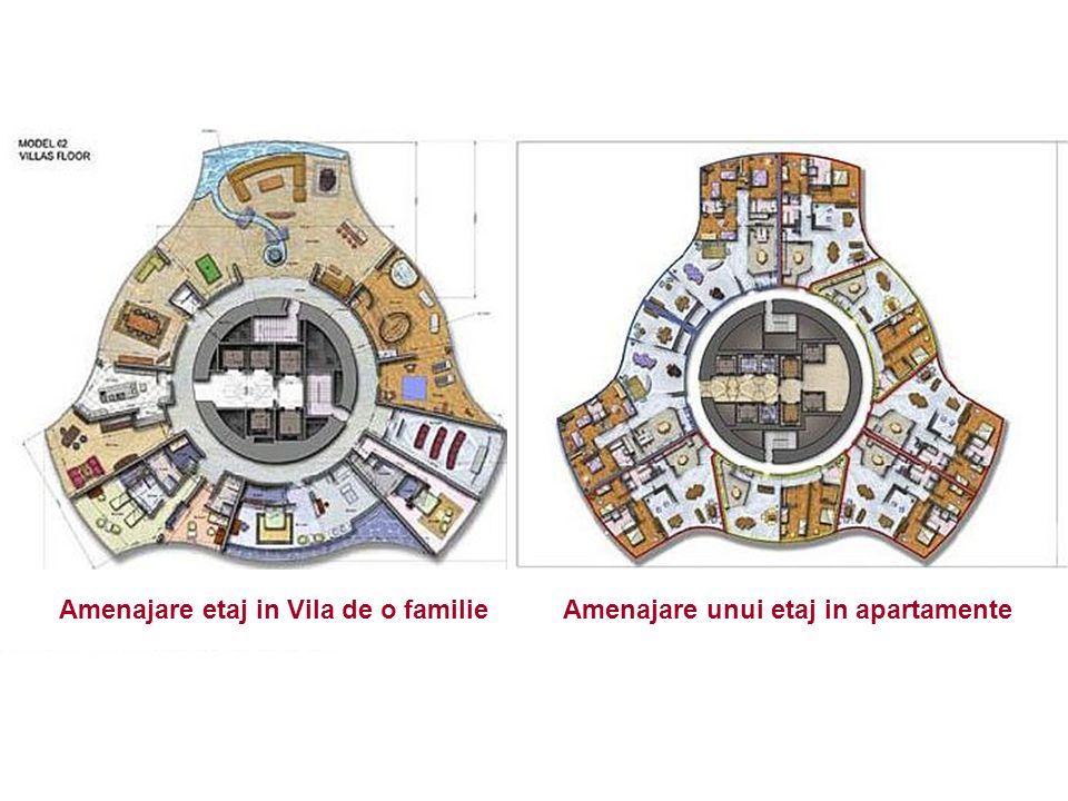 Amenajare etaj in Vila de o familieAmenajare unui etaj in apartamente