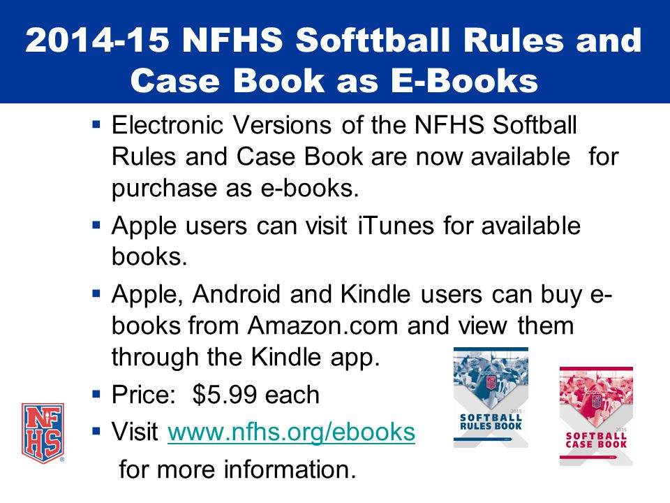 INTERFERENCE 2-32 The NFHS Softball Rules Committee strongly emphasizes that coaches instruct their players on this definition, and what actions they should take.