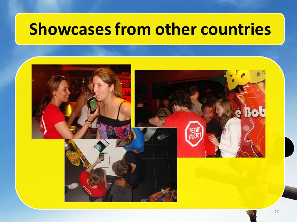 20 Showcases from other countries