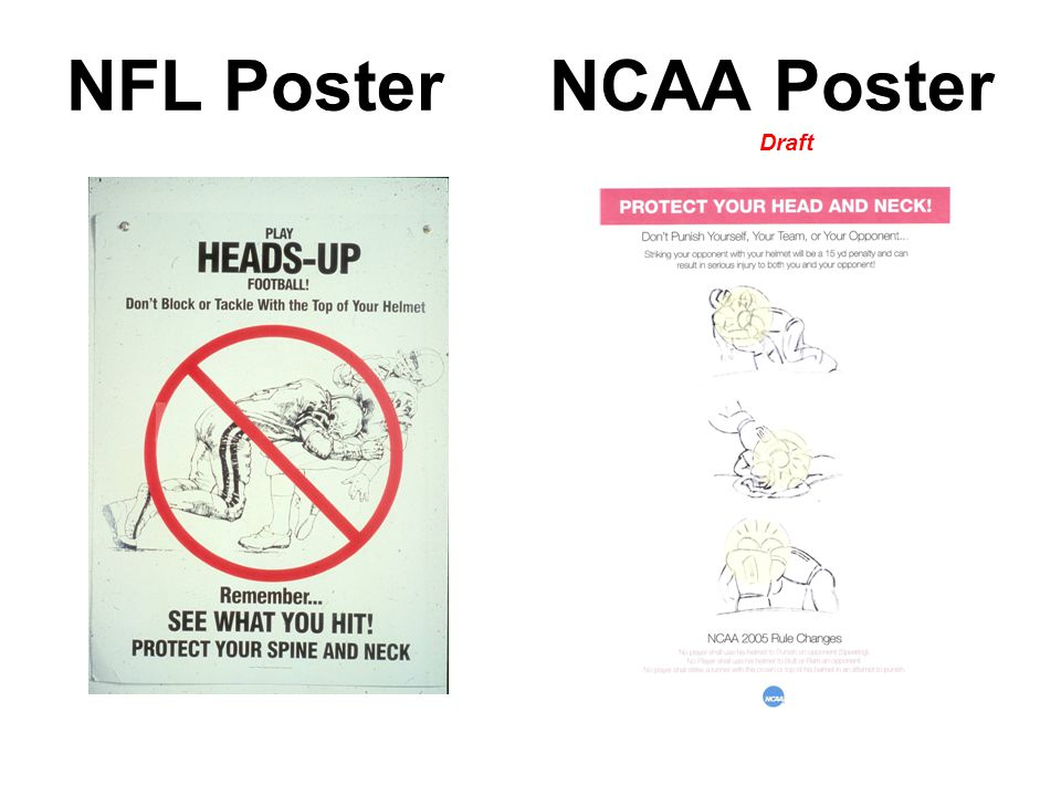NFL Poster NCAA Poster Draft