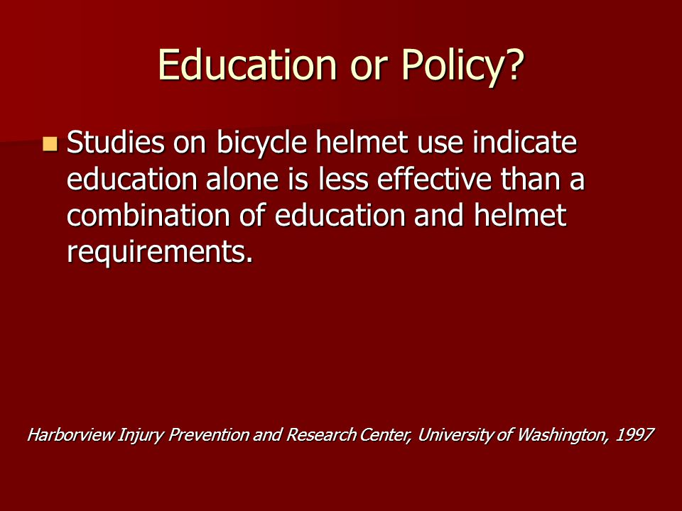 Education or Policy.