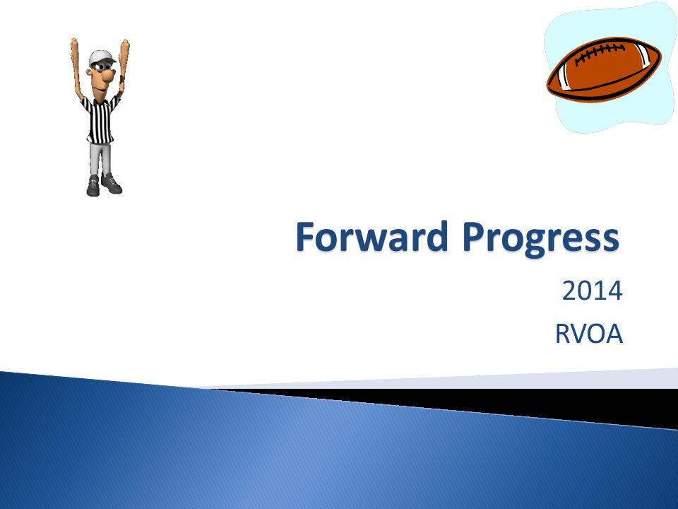 Forward Progress 2014 RVOA