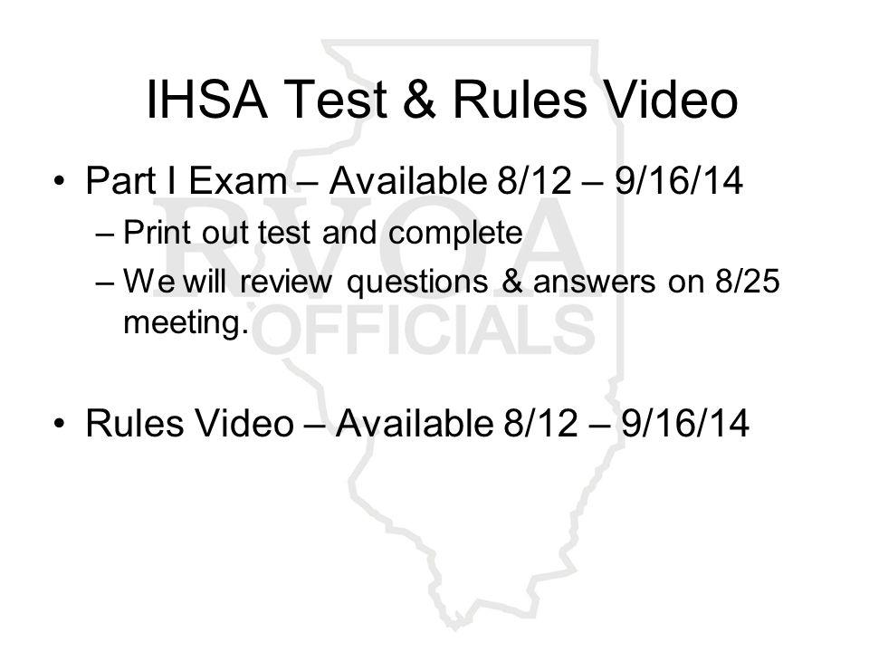 Classroom Training 2014 REMAINING MEETING DATES: August 11, 18, 25 @ RVC, Bldg.