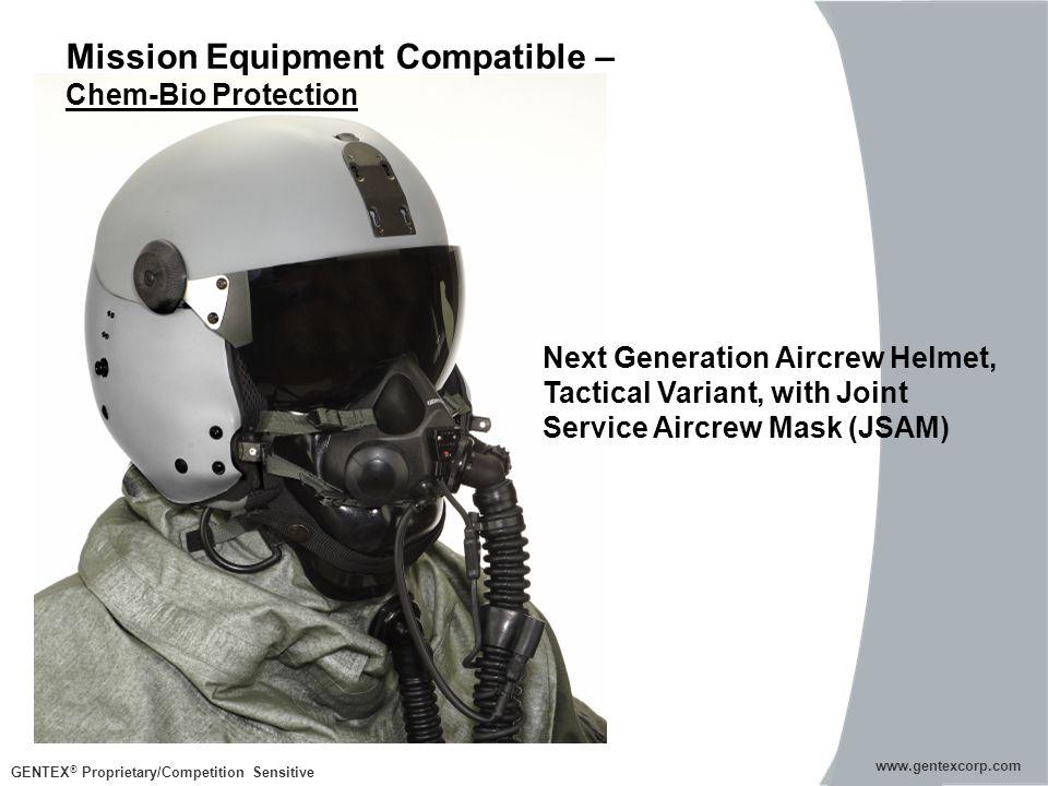GENTEX ® Proprietary/Competition Sensitive www.gentexcorp.com Mission Equipment Compatible – Chem-Bio Protection www.gentexcorp.com Next Generation Ai