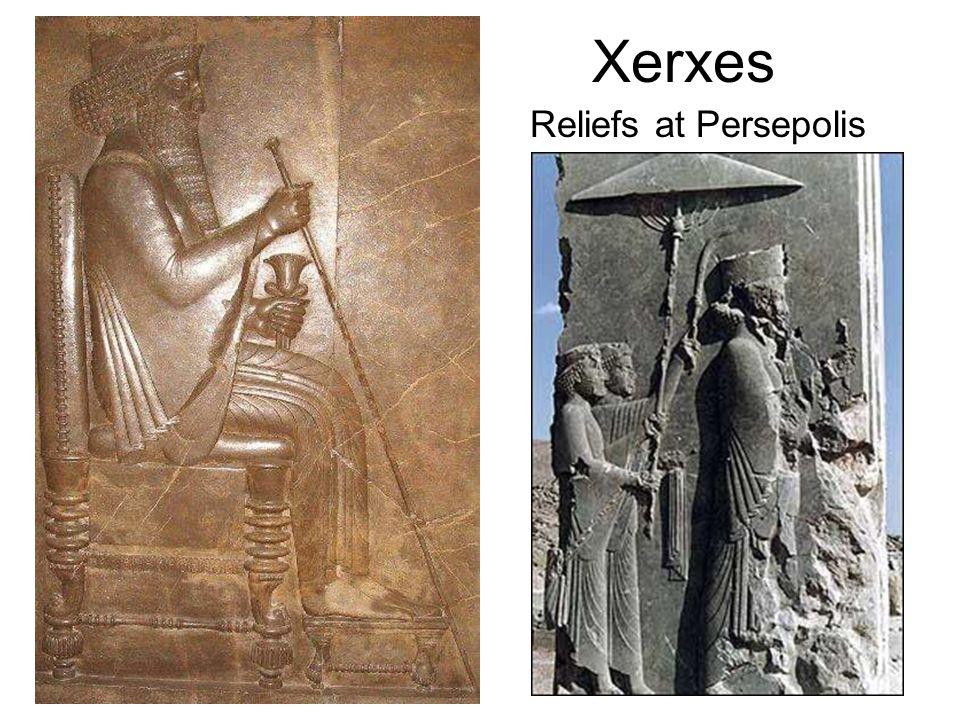 Xerxes Reliefs at Persepolis