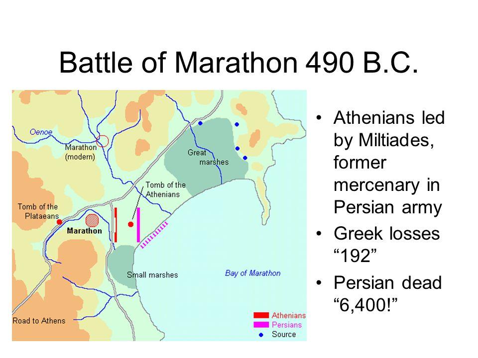 2nd Persian Invasion Xerxes, son of Darius 481 B.C.