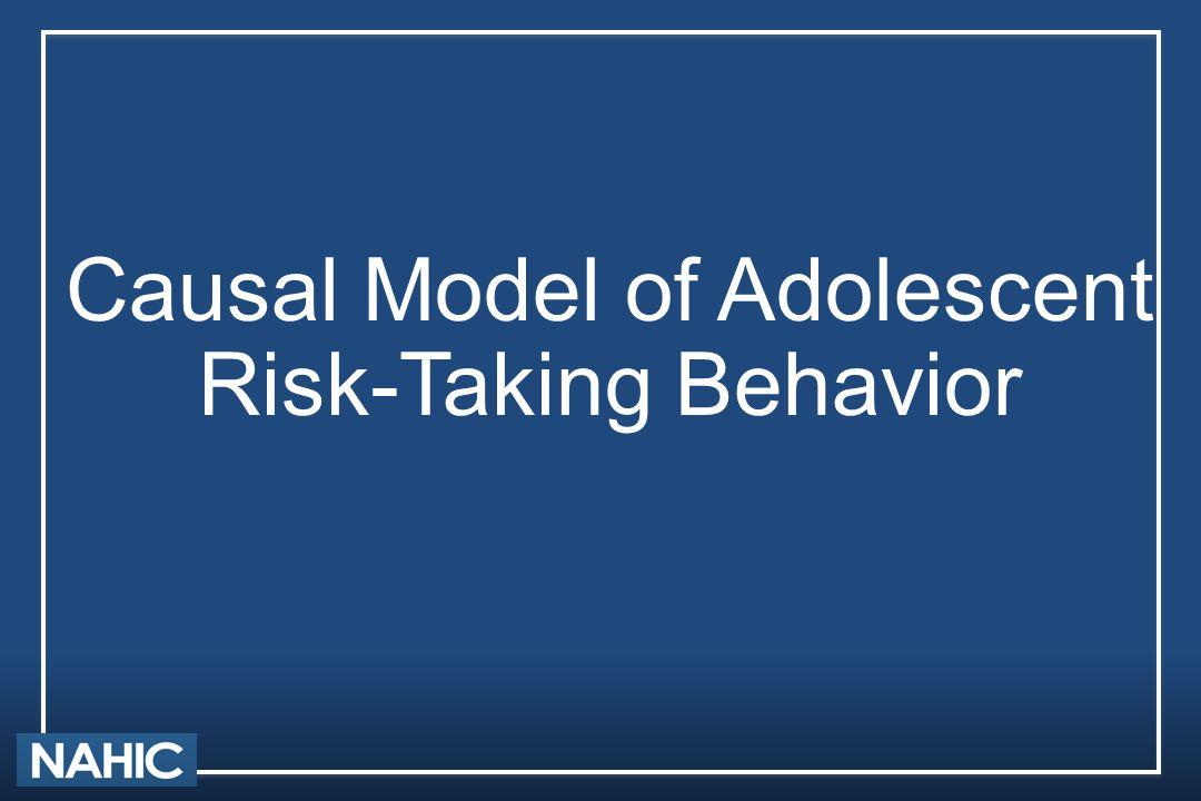 Causal Model of Adolescent Risk-Taking Behavior
