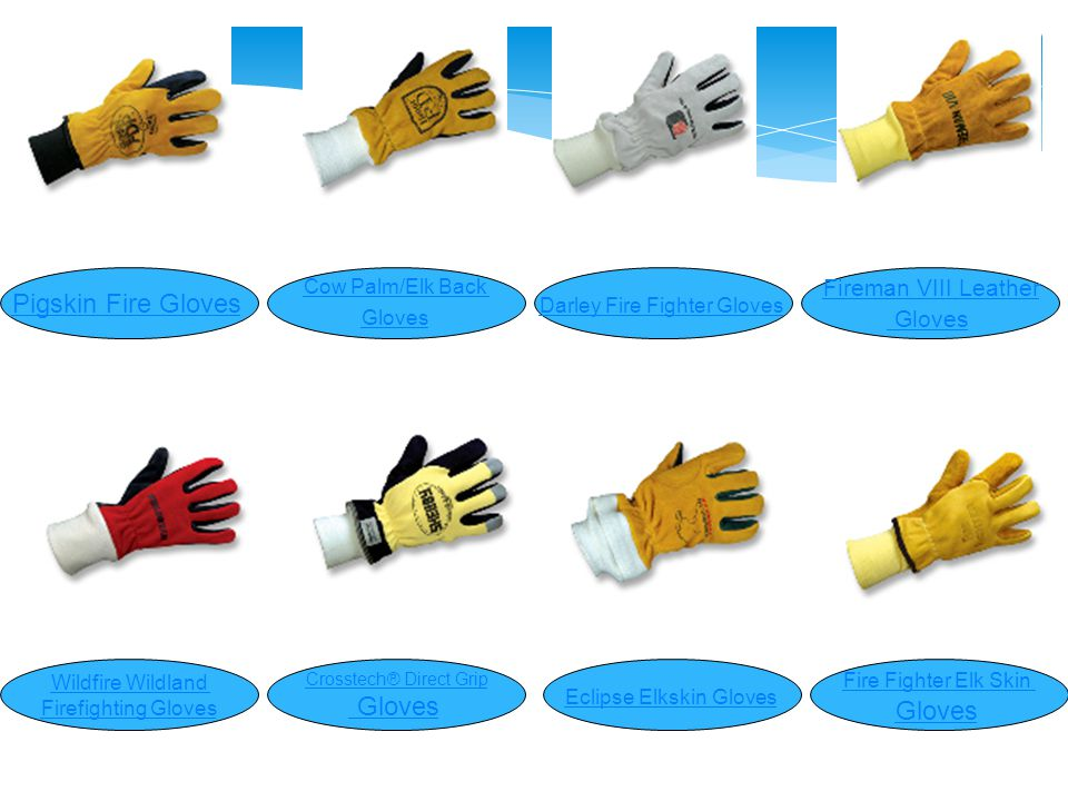 دستكشهاي هاي آتش نشاني ( Firefighting gloves ) Rope Rescue GloveBlaze Fighter GlovesExtrication Gloves Fire Mate™ Leather Gloves