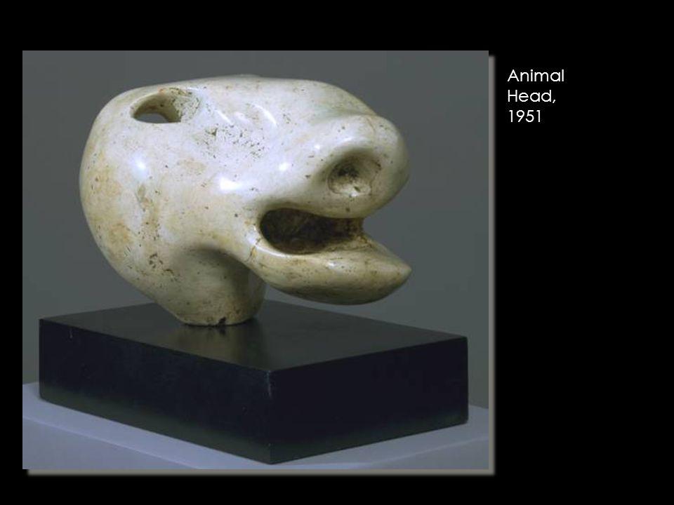 Animal Head, 1951