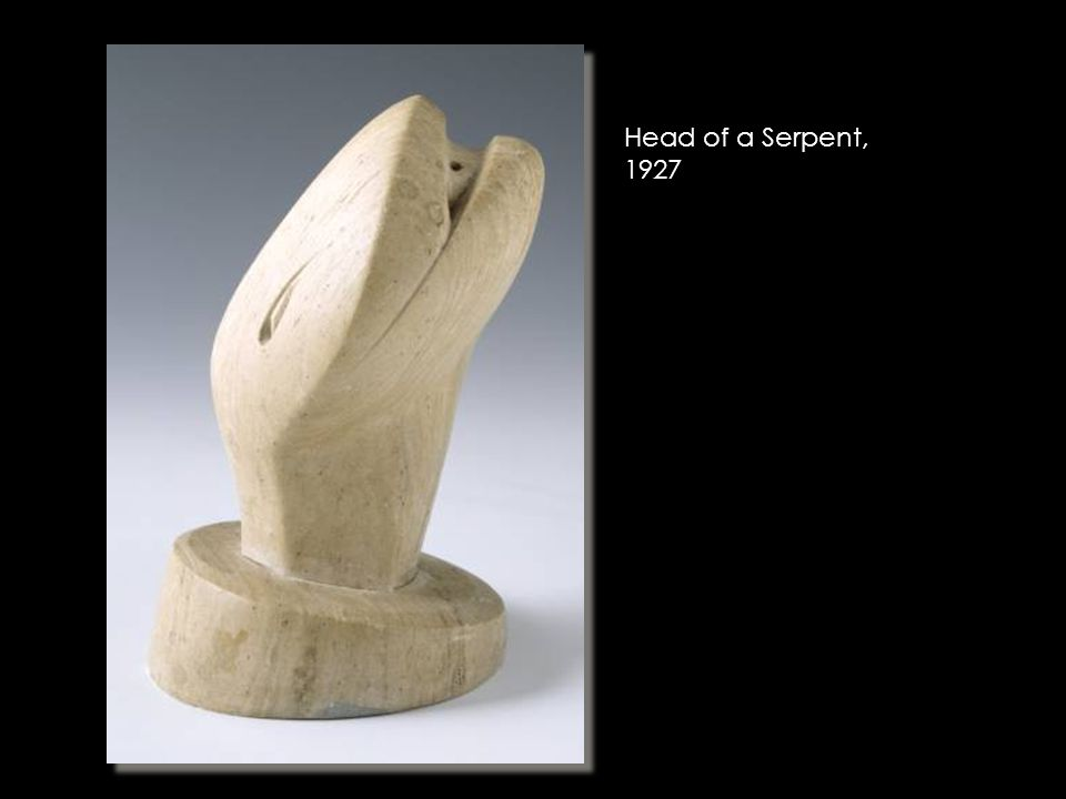 Head of a Serpent, 1927