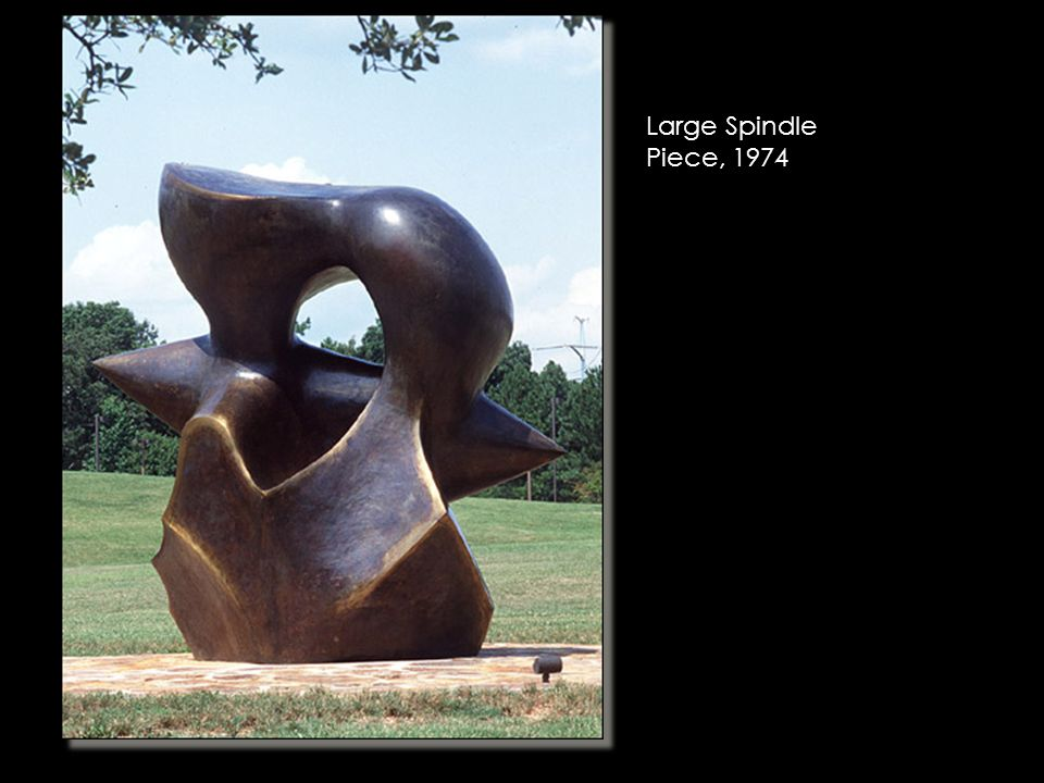Large Spindle Piece, 1974