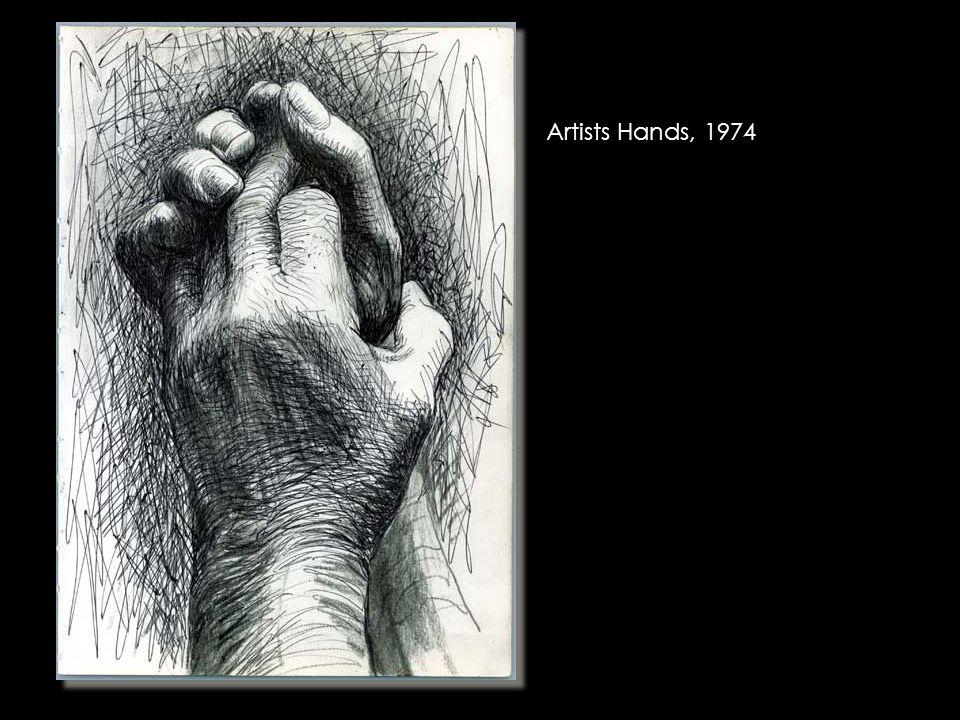 Artists Hands, 1974