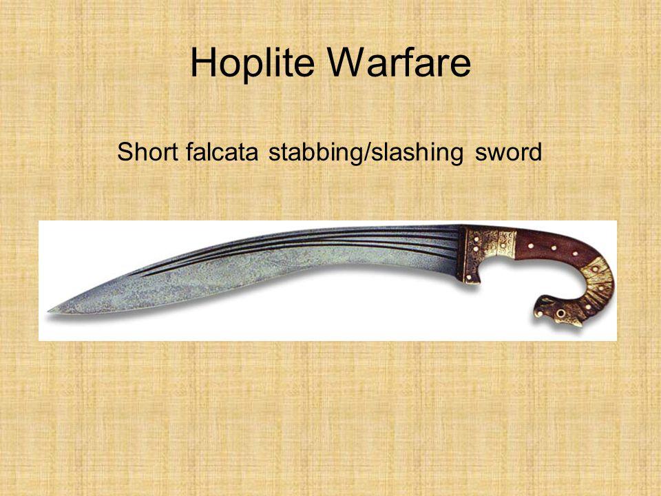 Short falcata stabbing/slashing sword
