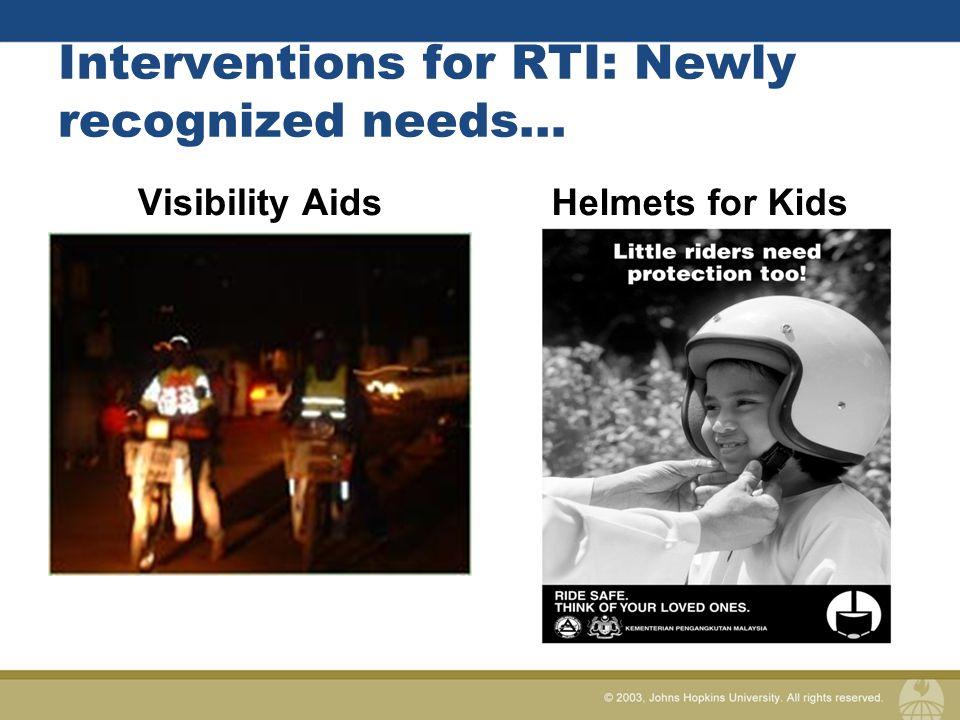 Traffic injuries – what works.